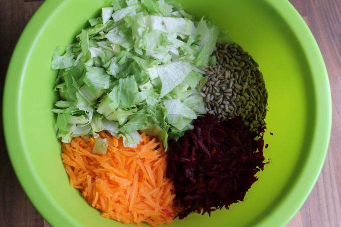 Весенне-летний салат