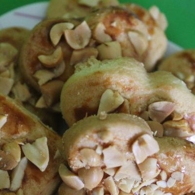 Печенье с арахисом